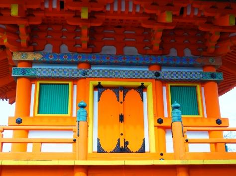 Kiyomizudera vermilion temple Kyoto Japan