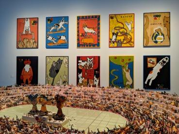 Mori Art Museum cat olympics Tokyo 2020