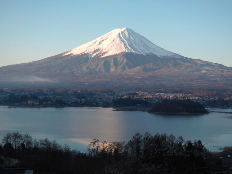 Mt Fuji from Hoshinoya fuji 7am