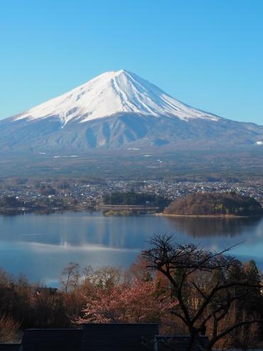 Mt Fuji From Hoshinoya Fuji 9am