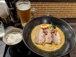 Nandattei curried ramen Kyoto Japan