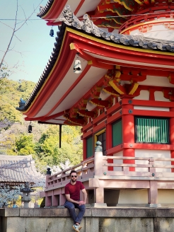 Shoren-in Temple Sakura Kyoto Japan