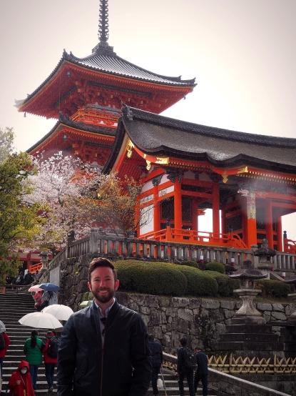 Kiyomizudera Sakura season Kyoto Japan