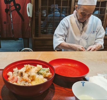Sanshoutei tempura Yamazaki Japan