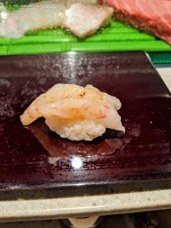 Sushi Daiwa Botan Shrimp Toyosu Market