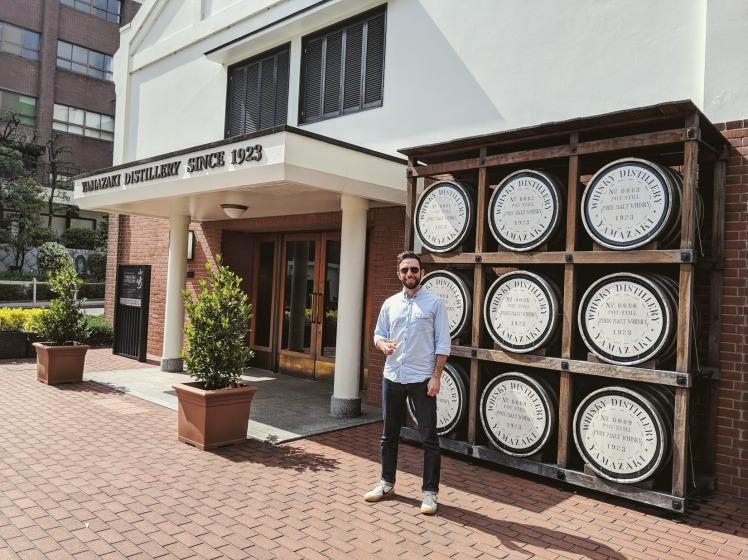 Ryan at Suntory Yamazaki Distillery